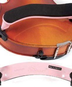 Everest Light Pink ES Series 3/4-1/2 Violin Adjustable Shoulder Rest